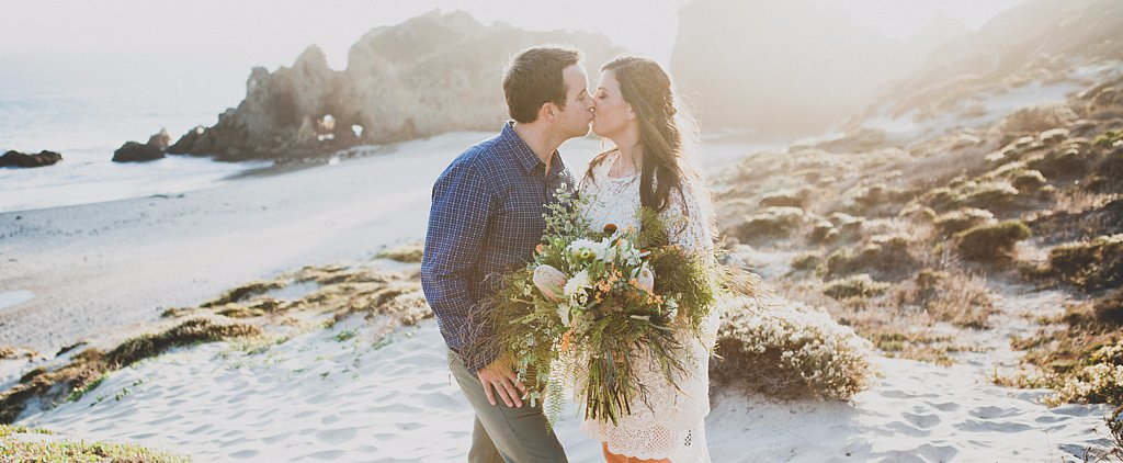 This Effortless Beachside Wedding Proves How Beautiful Elopement Can Be