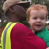 A Little Boy Has a Party to Say Goodbye to His Best Friend - the Family Garbage Man
