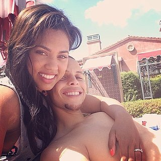 Cute Pictures of Stephen Curry and His Wife,