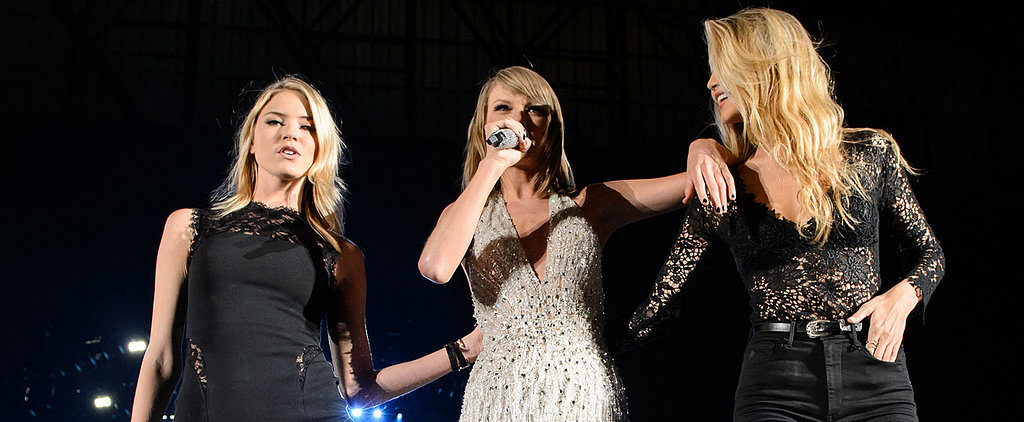 Taylor Swift Stuns on Stage With Gigi Hadid and Martha Hunt