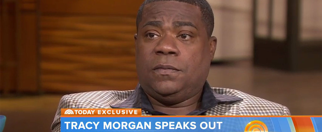 Tracy Morgan Breaks Down During His First TV Interview Since Deadly 2014 Bus Crash