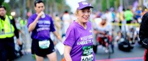 This 92-Year-Old Cancer Survivor Just Made Marathon History