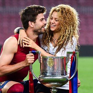 Shakira and Gerard Pique Copa del Rey 2015 PDA
