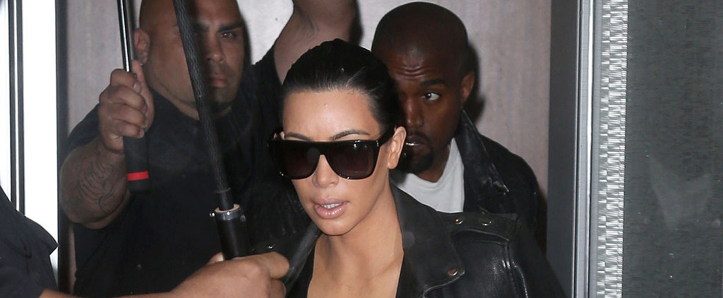 Pregnant Kim Kardashian Steps Out With Kanye West After Her Big Announcement
