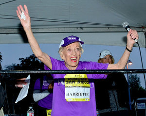 Watch This 92-Year-Old Woman Become the Oldest Marathon Finisher Ever