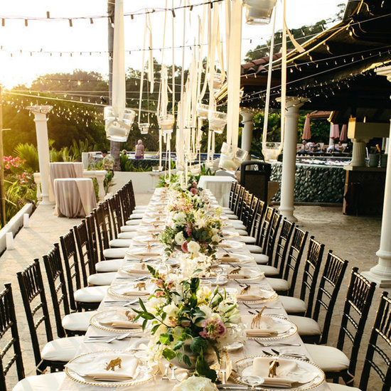 Ideas For Outdoor Wedding Reception Tables