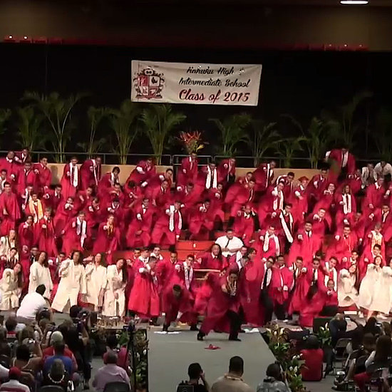 Kahuku Class of 2015 Graduation Ceremony Dance | Video
