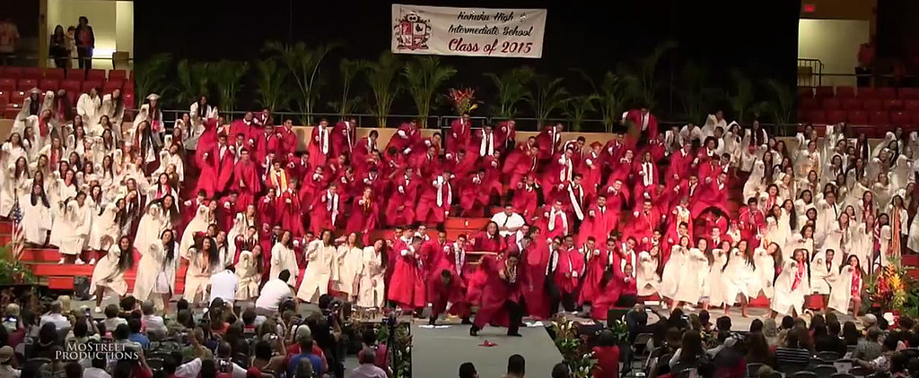 These High School Grads Wowed at Their Ceremony With an Awesome Dance Routine