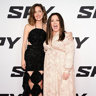 Melissa McCarthy and Rose Byrne Spy Premiere NYC Pictures