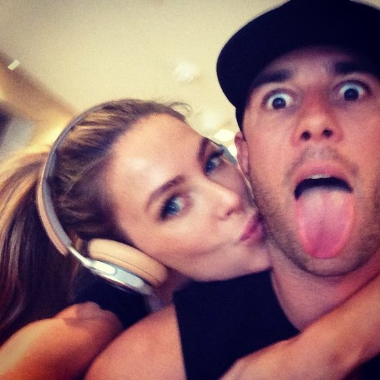 Jennifer Hawkins and Jake Wall Cutest Pictures