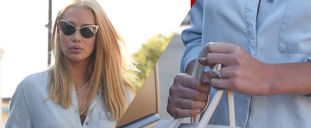 Take a Closer Look at Iggy Azalea's Massive Engagement Ring