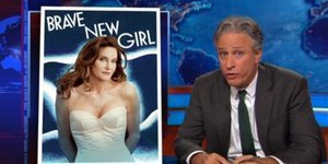 Jon Stewart Calls Out Media For Coverage Of Caitlyn Jenner's Looks