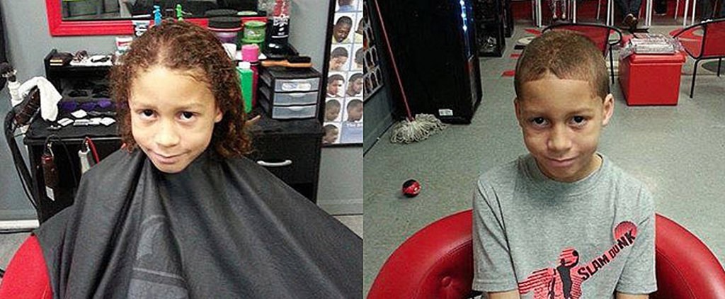 This Little Boy Will Inspire You to Grow Out Your Hair
