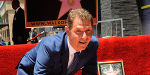 'Cheater' Banner Flies Over Bobby Flay's Walk Of Fame Ceremony
