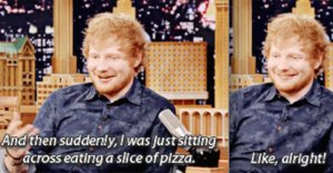 Ed Sheeran Took Beyoncé & Jay Z To A Dive Bar For Pizza And Shots
