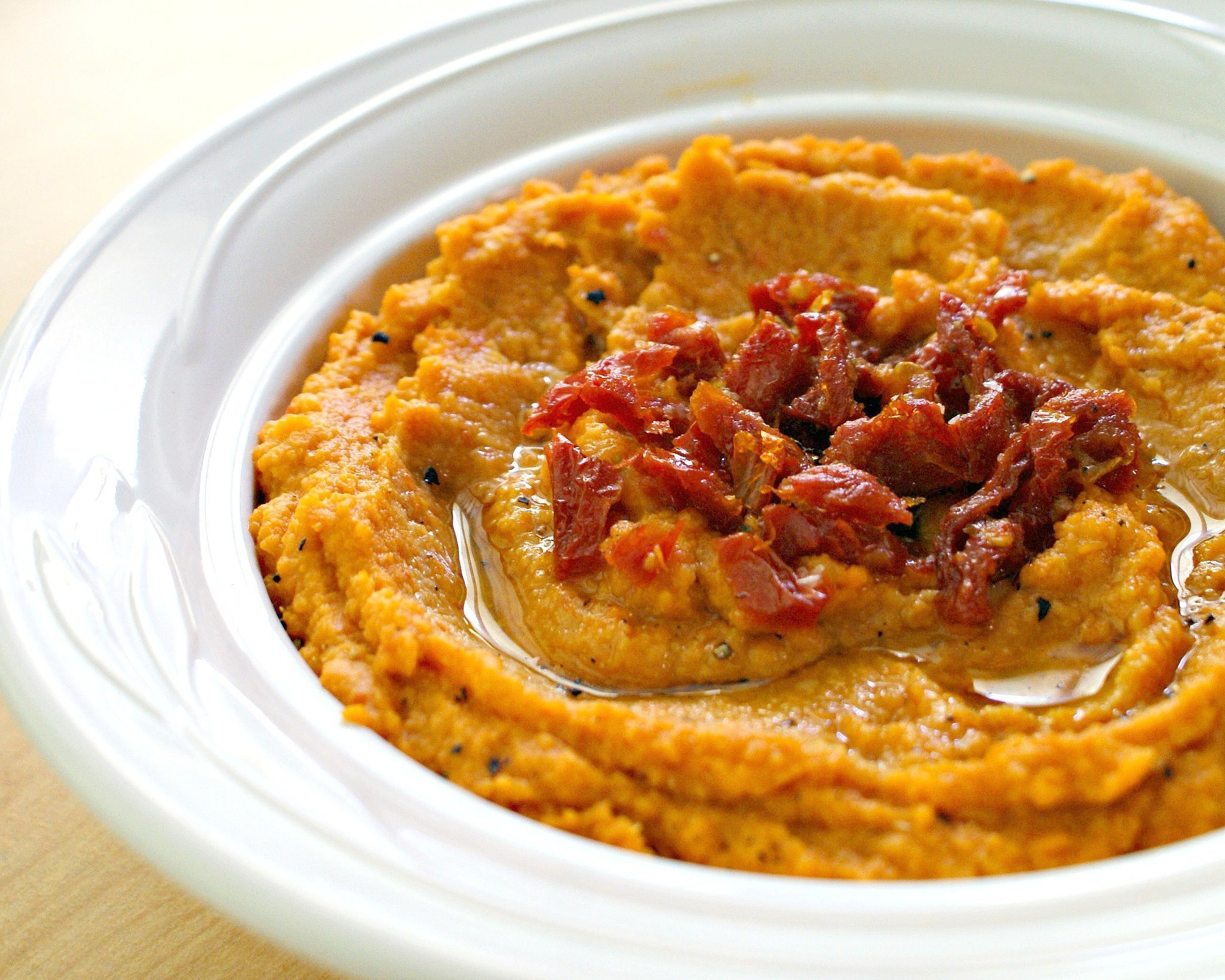 Sun-Dried Tomato Hummus | 29 Vegan Barbecue Sides That'll Even Impress ...