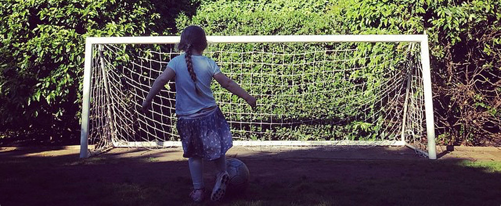 Harper Beckham Is Already Killing It on the Soccer Field in This Adorable Instagram Photo
