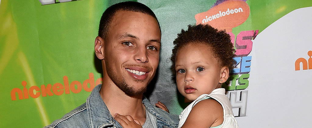 Watch Steph Curry and His Adorable Daughter Share the Sweetest Pregame Moment