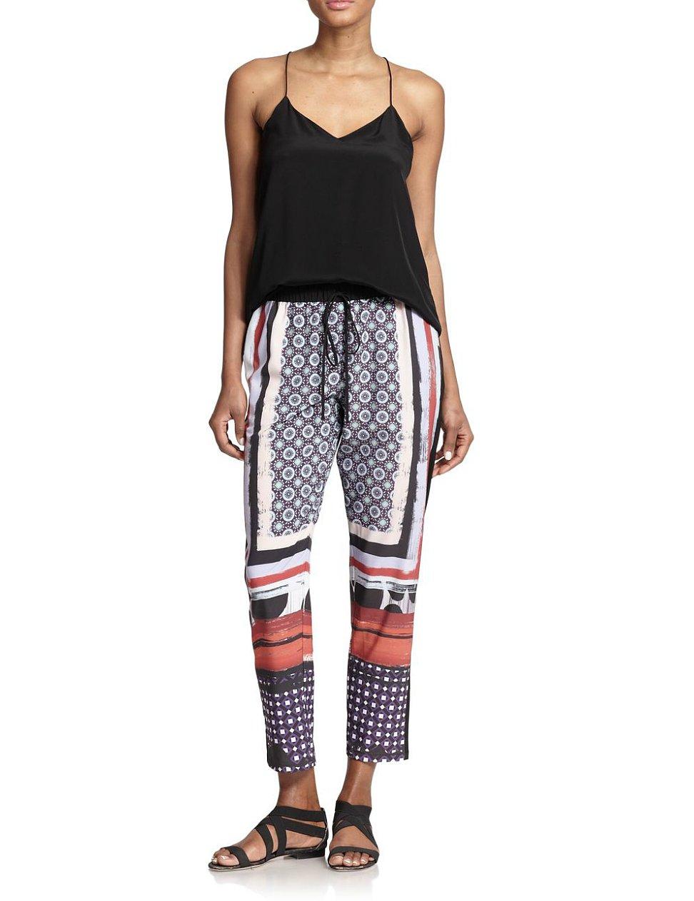 Clover Canyon Printed Drawstring Pants ($216)