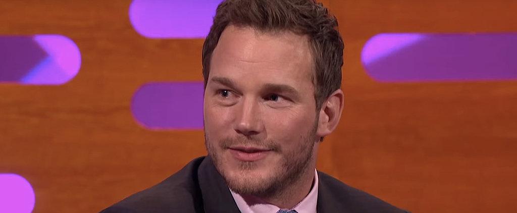 Watch Chris Pratt Explain Amy Poehler's Reaction to Seeing His Penis