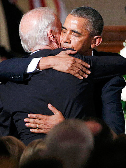 President Obama Remembers Beau Biden as a Man with a 'Mighty Heart' During Emotional Eulogy