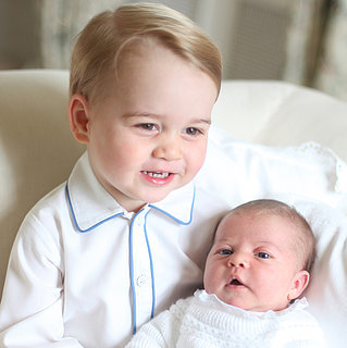 Prince George and Princess Charlotte Pictures