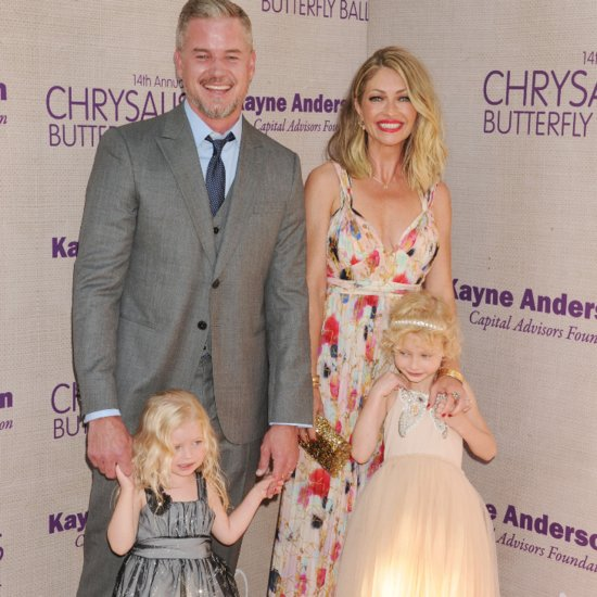 Eric Dane Rebecca Gayheart Cute Daughters