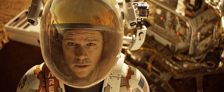 """The Martian Trailer: Matt Damon Has to """"Science the Sh*t"""" Out of Living in Space"""