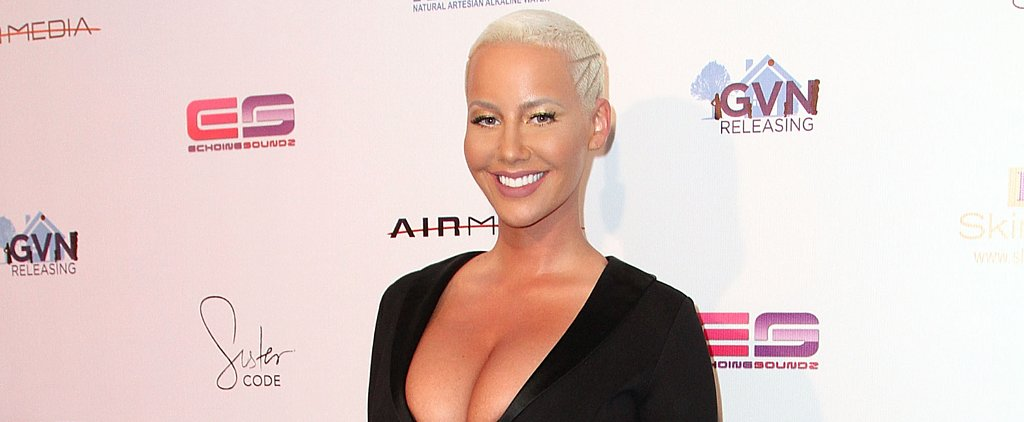 Amber Rose Gets Naked on the Cover of Her New Book