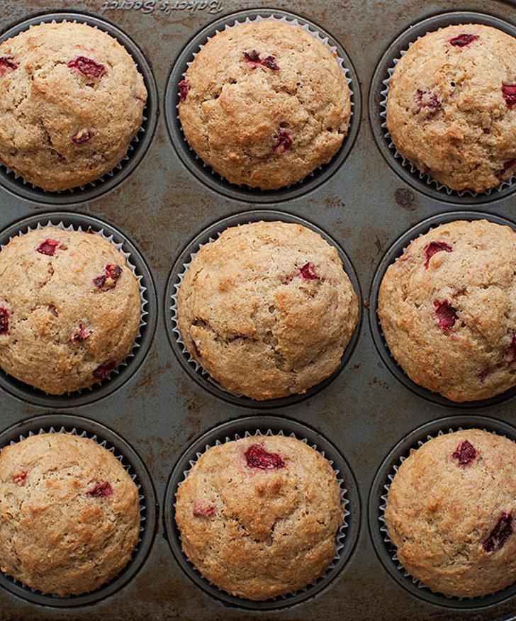 Strawberry Spelt Muffins