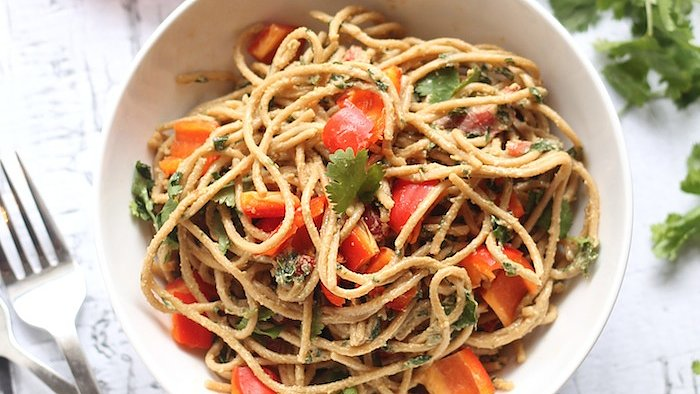 Craving Noodles? These Easy and Clean Peanut Noodles Will Satisfy