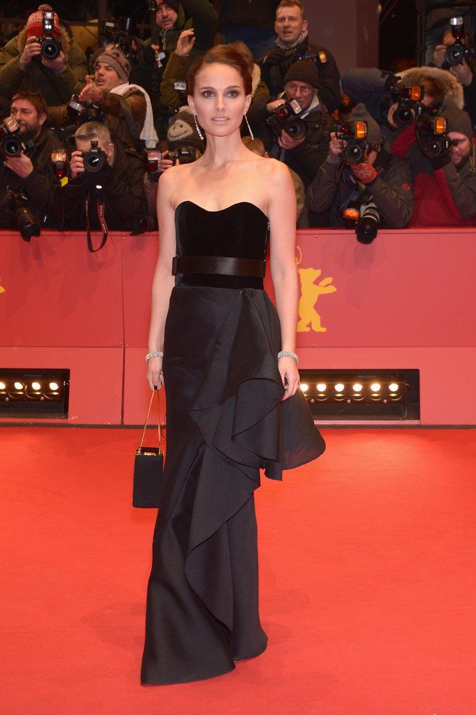 Natalie Portman in Christian Dior at the Berlin Film Festival in 2015