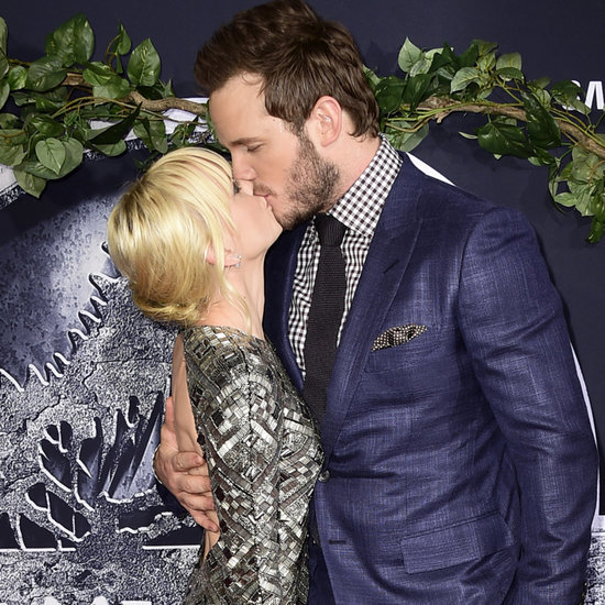 Chris Pratt and Anna Faris Show Sweet PDA at the Jurassic World Premiere