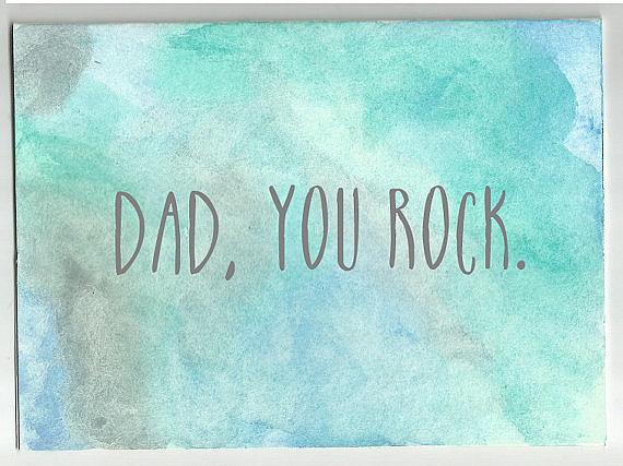 Dad Rocks