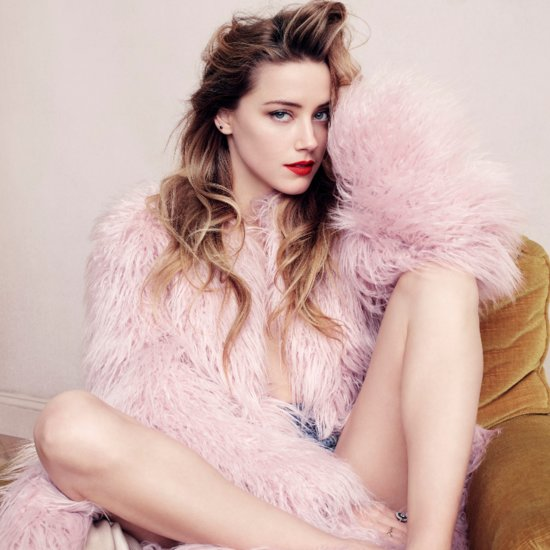 Amber Heard Johnny Depp Quotes From Elle Interview