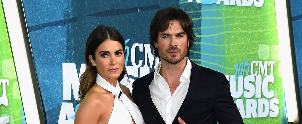 Nikki Reed and Ian Somerhalder Kick Off the CMT Awards Red Carpet!