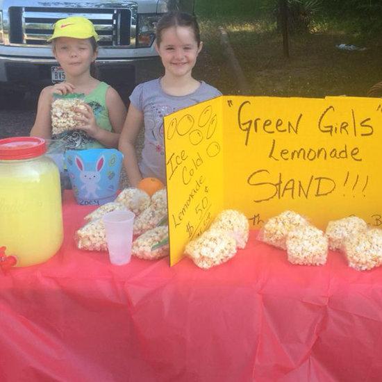 Police Shut Down Girls' Lemonade Stand