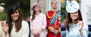Kate Middleton Stuns Year After Year During the Queen's Birthday Celebrations