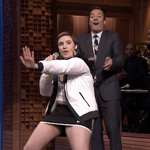 Lena Dunham and Jimmy Fallon's Lip Sync Battle   Video