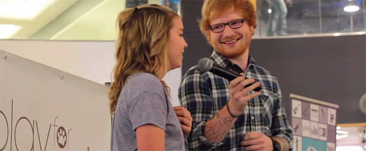 Ed Sheeran Heard a 13-Year-Old Singing His Song at the Mall and Joined Her on Stage