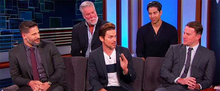 "Magic Mike XXL Cast: ""We're Actually Looking Forward to Seeing Each Other Naked"""