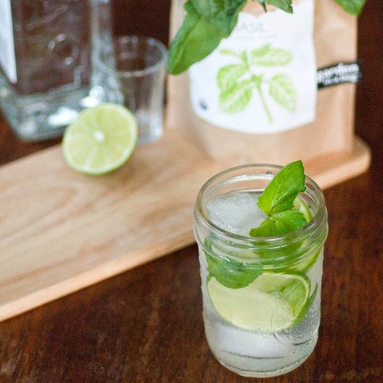 Basil-Lime Gin Mojito