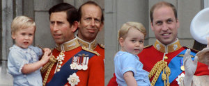 Prince George Makes His Balcony Debut in Prince William's 1984 Outfit