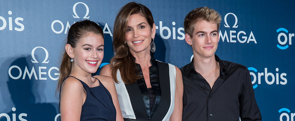 Cindy Crawford Hits the Red Carpet With Her Gorgeous Look-Alike Kids