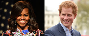 Michelle Obama and Her Daughters Have a Tea Date With Prince Harry