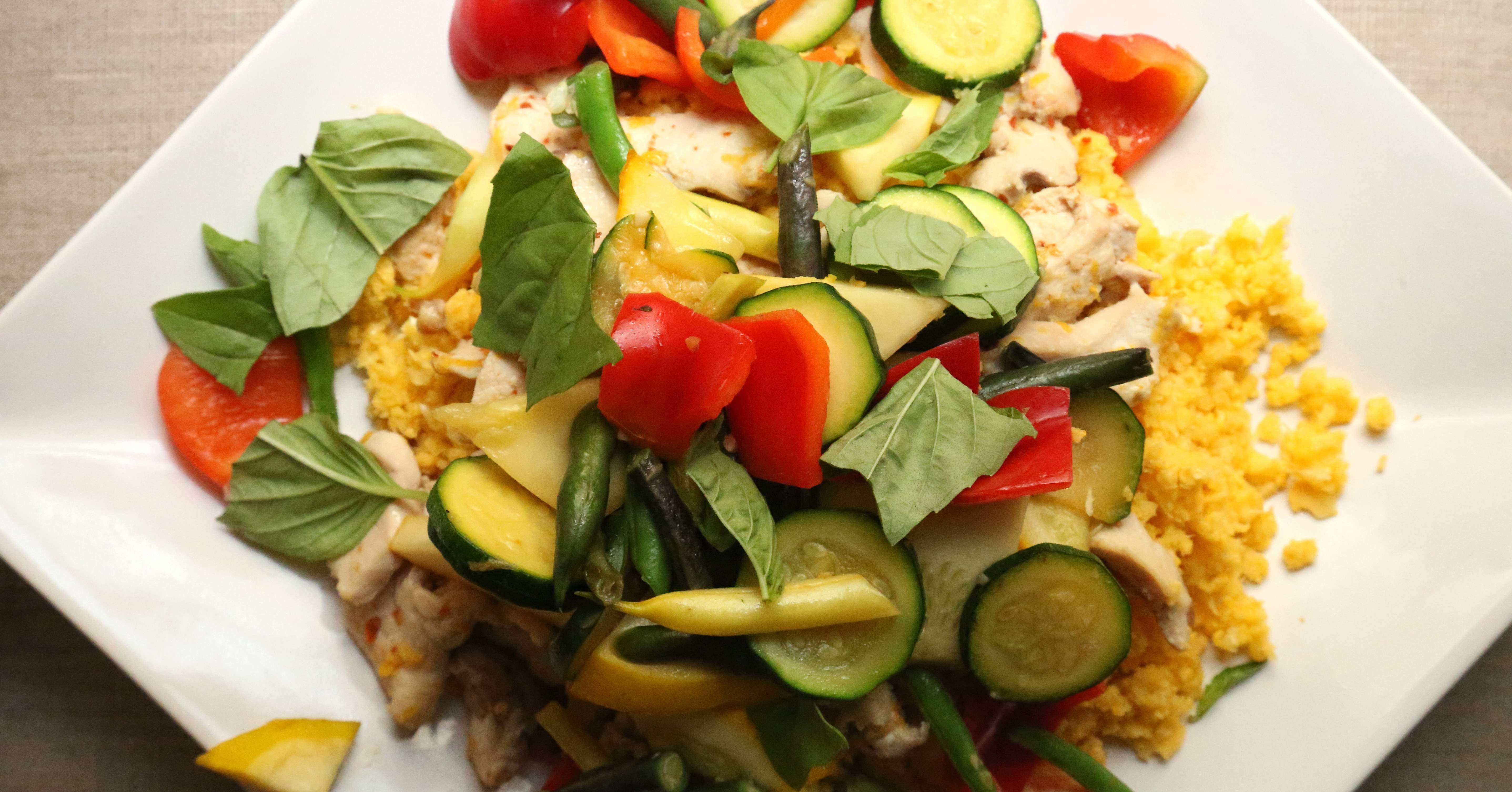 Fast and Easy Stir-Fry With Chicken and Summer Vegetables | POPSUGAR ...