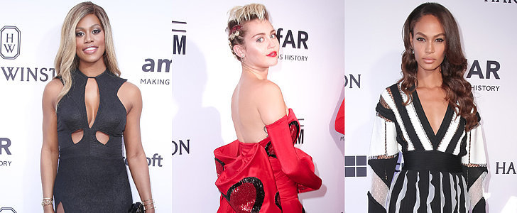 Miley Cyrus Set the Style Bar High in Her Crazy Heart-Covered Dress