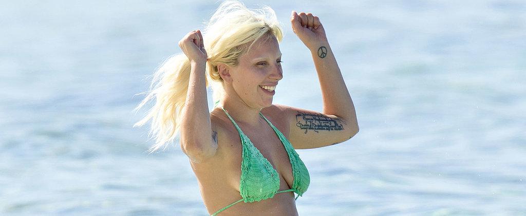Lady Gaga Flaunts Her Bikini Body in the Bahamas