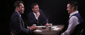 Watch True Detective's Colin Farrell and Vince Vaughn Interrogate Jimmy Fallon