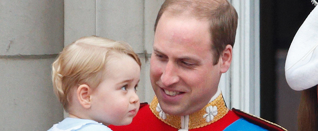 Prince William's 20 Sweetest Dad Moments